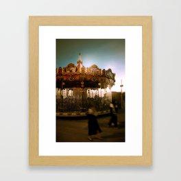 Magic roundabout Framed Art Print