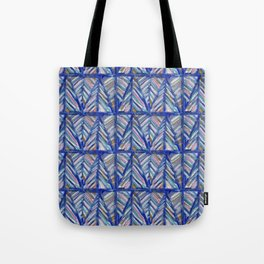 Modern Art Mountains Tote Bag