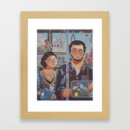 New American Gothic Framed Art Print