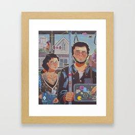 New American Gothic Framed Art Print