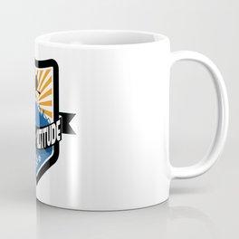Adjust Your Altitude   Ski Series   DopeyArt Coffee Mug