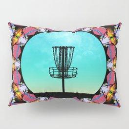 Disc Golf Abstract Basket 6 Pillow Sham