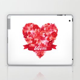Blooming heart Laptop & iPad Skin