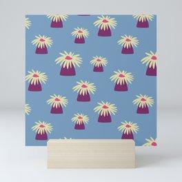 Anemones that look like daisies Mini Art Print