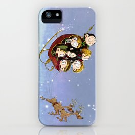 Little Hiddles Christmas Time iPhone Case