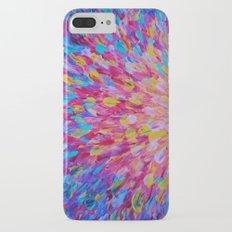 SPLASH, Revisited - Bold Beautiful Feminine Romance Ocean Beach Waves Magenta Plum Turquoise Crimson Slim Case iPhone 7 Plus