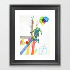 En la ciudad Framed Art Print