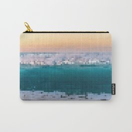 Beach Pixelation Carry-All Pouch