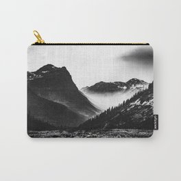 Mountain Valley Glacier National Park Carry-All Pouch