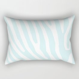 Blue Zebra Rectangular Pillow