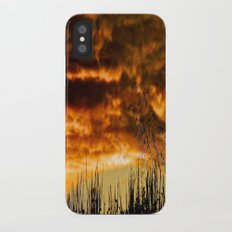 When Storm & Sunset Meet Slim Case iPhone X