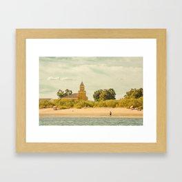 le Pêcheur Framed Art Print