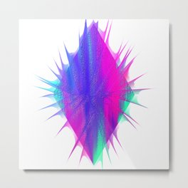 Scaly Gem Metal Print