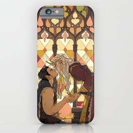 I take you as my man iPhone Case