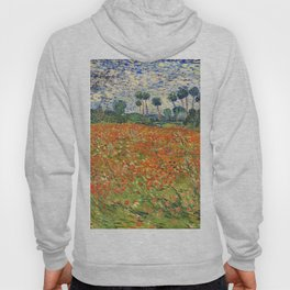Poppy Field by Vincent van Gogh, 1890 painting Hoody