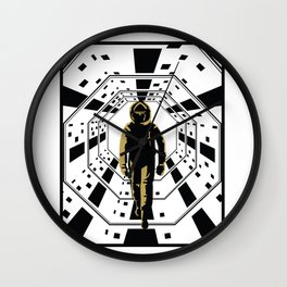 A space odyssey Wall Clock