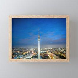 The Berlin TV Tower Framed Mini Art Print