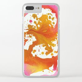 Abstract Painting 67 Clear iPhone Case