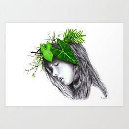nature's beauty? Art Print