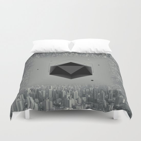 City Intruder Duvet Cover