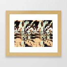 abstracto Framed Art Print