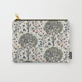 William Morris Trees and Bluebirds  Carry-All Pouch