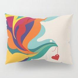 Love Message Pillow Sham