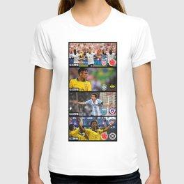 el road trip de la copa T-shirt