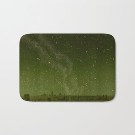 The sky and horizon above Paris Illustration from Le ciel; notions élémentaires d'astronomie physi Bath Mat