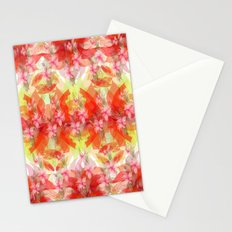 Fantasy in red Stationery Cards
