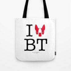 I ♥ BOSTON TERRIER Tote Bag