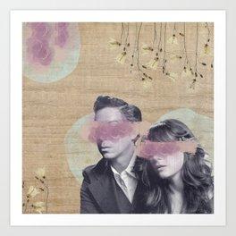 Feminine Collage IV Art Print