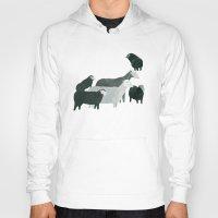 sheep Hoodies featuring Sheep by Yuliya