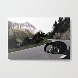 Road Trip II / Switzerland Metal Print