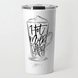 Coffee latte cup Travel Mug
