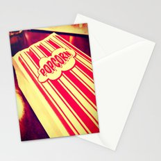 Popcorn, Get Your Popcorn Here!!! Stationery Cards