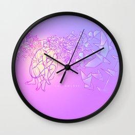 Hollowlove Origami Heart Wall Clock