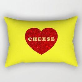 One True Love (Cheese Heart) Rectangular Pillow
