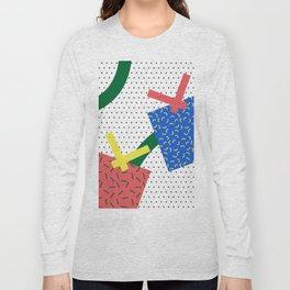 Memphis Christmas Presents Long Sleeve T-shirt