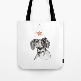 Birthday dog Tote Bag