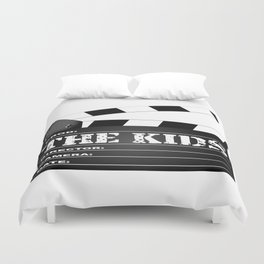 The Kids Clapperboard Duvet Cover