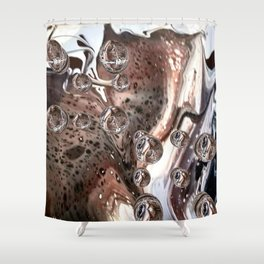 Animal instincts Shower Curtain