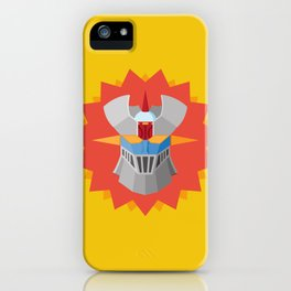 Mazinger iPhone Case
