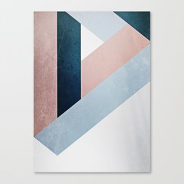 Complex Triangle Canvas Print