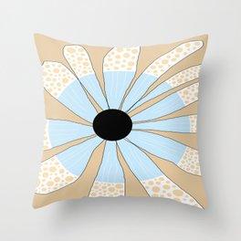 FLOWERY JULIA  / ORIGINAL DANISH DESIGN bykazandholly Throw Pillow