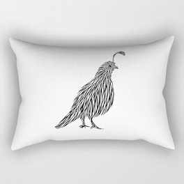 Quail Joshua Tree By CREYES Rectangular Pillow