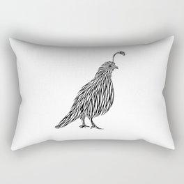 Quail Joshua Tree By CREYES Rectangular Pillow