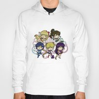 sailor moon Hoodies featuring Sailor moon by Madoso