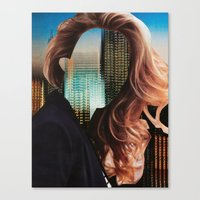 sin city Canvas Prints featuring Sin City by Imogen Art