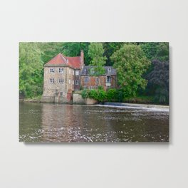 Fulling Mill House at Durham Metal Print